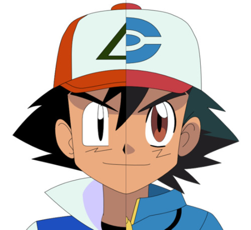 thesilveranger:  what the hell is this, ill stick to how i remember ash in my childhood.