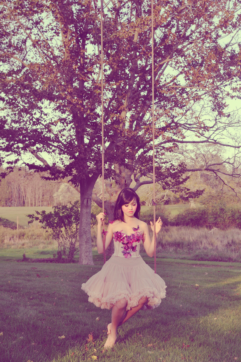 DIY Corset // Betsey Johnson Crinoline Sherrill's Swing (3/4)East Hampton, NY