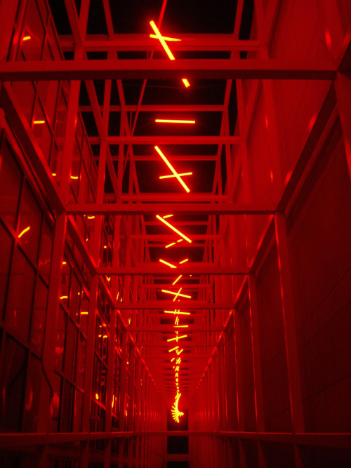 pathosforbathos:  Erwin Redl installation for Six Solos at the Wexner Center for the Arts | The Ohio State University Photo by ik's pics
