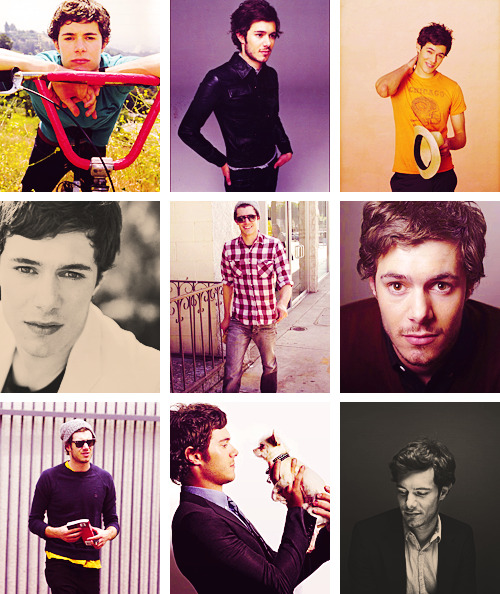 "celeb alphabet > A Adam Brody ""I don't want to be one of those guys who's known for his love life and not his work."""