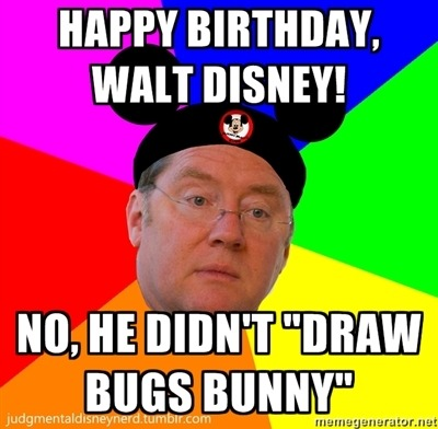 Happy 110th, Walt! We love you!