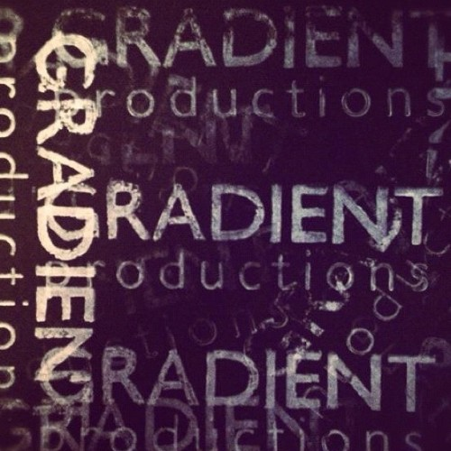 Our logo! #production #photo #gradientproductions #oregon #graphicdesign #iphone4s #greatdesign #iphone4s  (Taken with instagram)