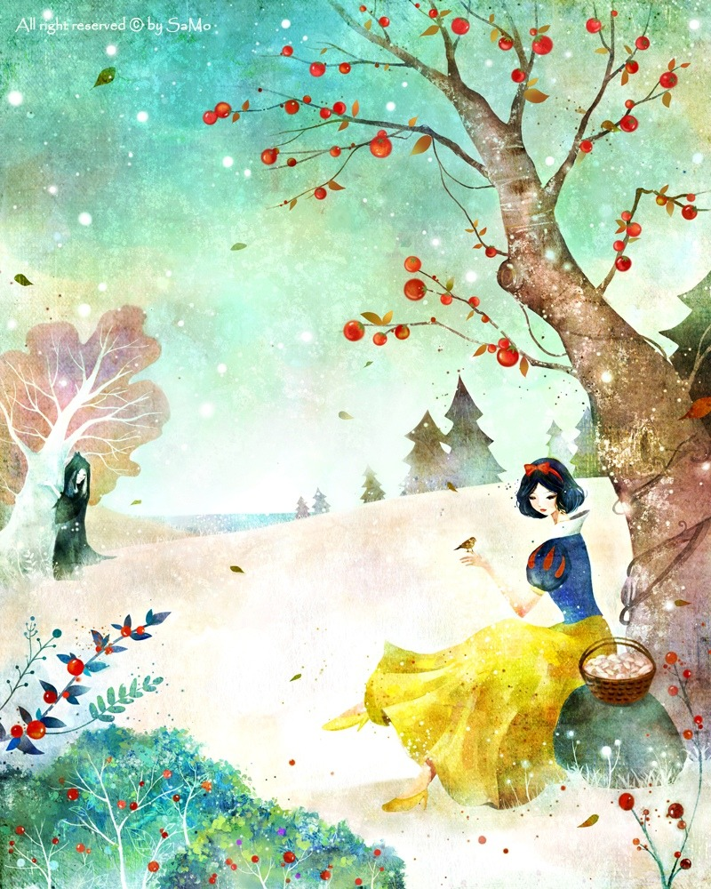 "fairytalemood:  ""Snow White"" by Kim Yoon Hee"