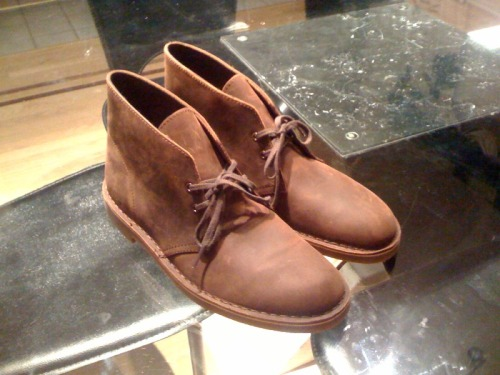 Bought my first pair of desert boots!! Hopefully I can put these to good use