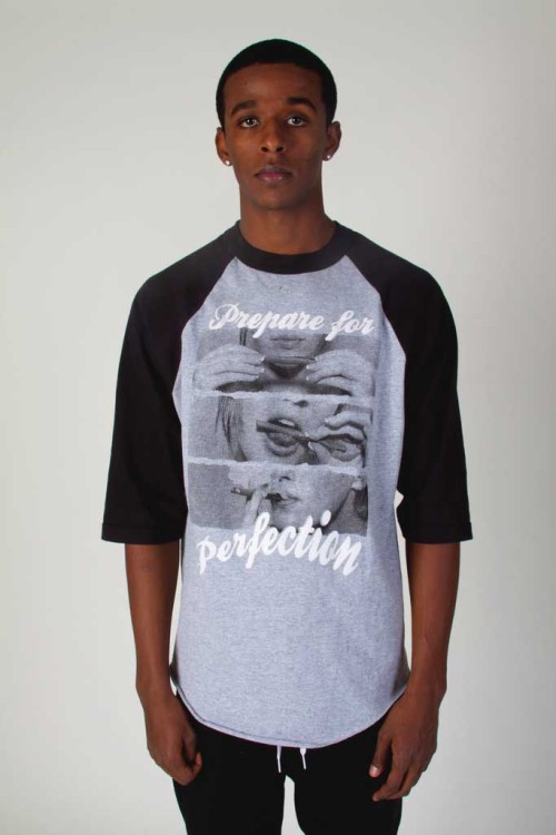 prepare for perfection baseball tee! Estilo Streetwear!
