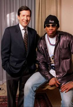 The Dennis Rodman ventriloquist routine covers all the important race issues.  It'll make you laugh and make ya think.