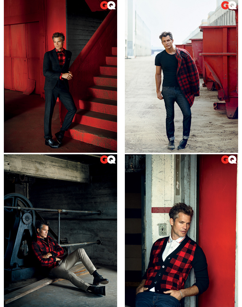 bohemea:  Timothy Olyphant - GQ by Nathaniel Goldberg, December 2011  So dreamy!