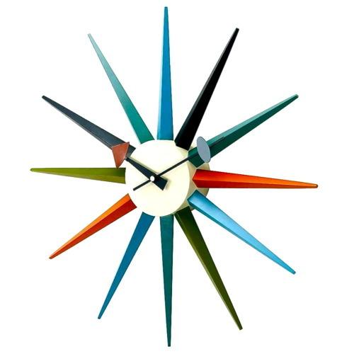 mid century modern design george nelson clocks. Black Bedroom Furniture Sets. Home Design Ideas