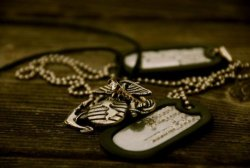Because heros wear dog tags, not capes.