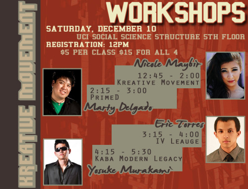 Kreative Movement Workshops!!?!??!? AHHHHHHHHHHHHHHHH!!!!!!!!!