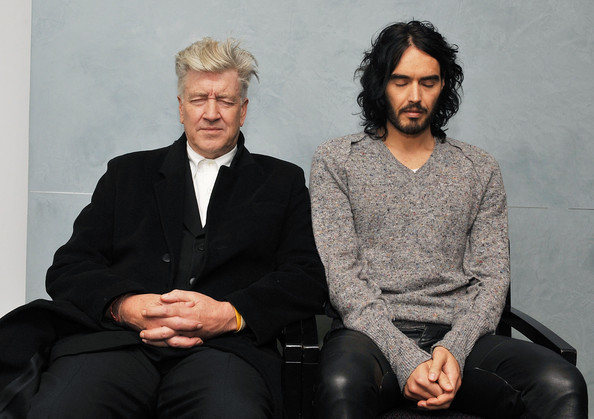 David Lynch and Russell Brand