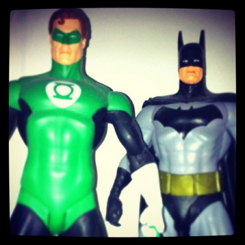 Toy Shelf Team Up (Taken with instagram)