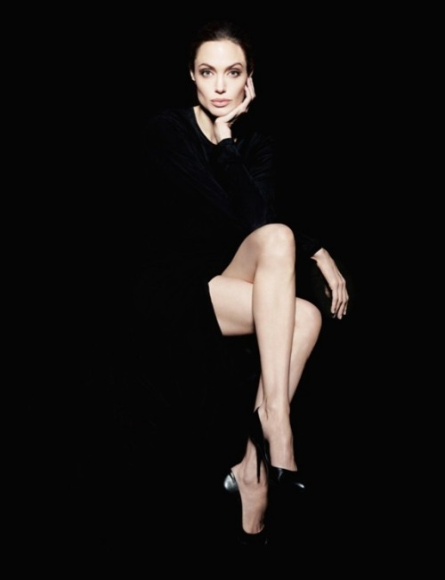 Angelina Jolie by Sofia Sanchez & Mauro Mongiello for Newsweek magazine.