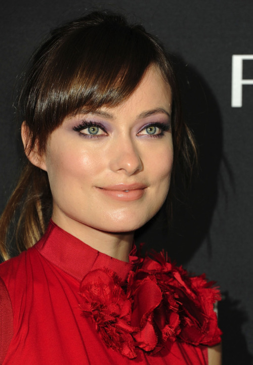 Olivia Wilde promoting new Revlon cosmetics in New York City - December 5, 2011.