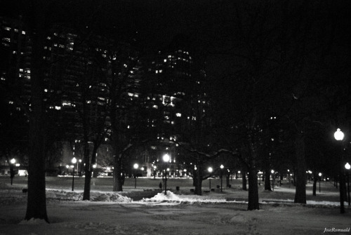 """Boston by Night"" Taken in Boston, MA, the USA, with my Nikon D60.JoseRomuald"