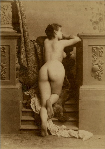 Prostitutes nude photos old postcards