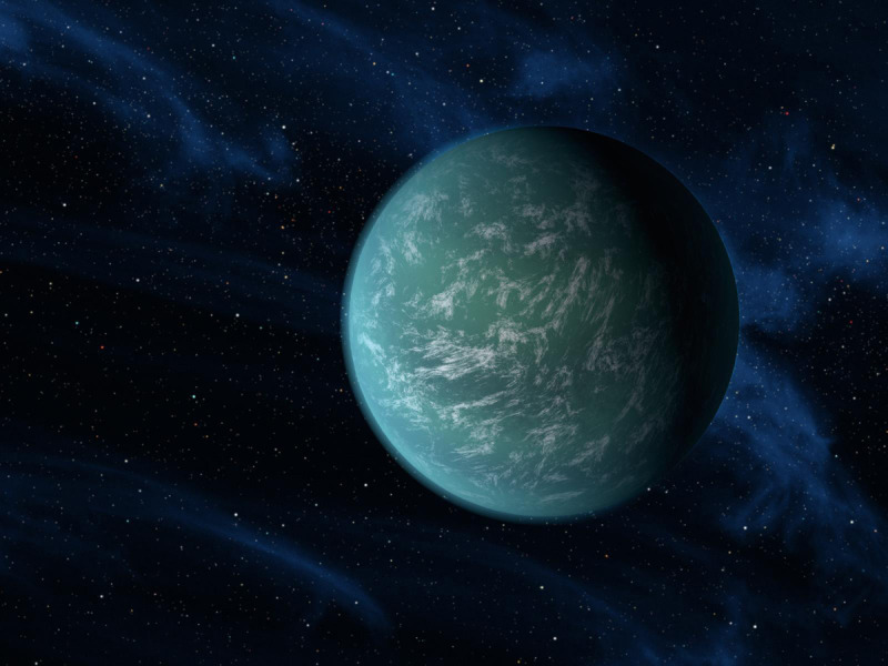 "Nasa's Kepler spacecraft recent found a new planet in the habitable zone!  Here is hoping its not Gungan filled Naboo… from space.com  ""The potentially habitable alien world, a first for Kepler, orbits a star very much like our own sun. The discovery brings scientists one step closer to finding a planet like our own — one which could conceivably harbor life, scientists said.""  These are exciting times folks."