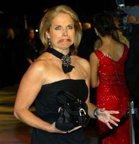 Well, it ain't no Tina Fey, but Katie Couric will do.