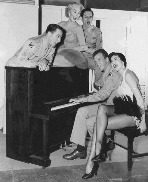 always-fair-weather:  The cast of It's Always Fair Weather (1955)