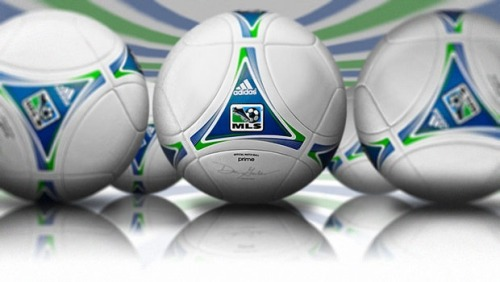 MLS and Adidas unveiled the new Adidas PRIME today, which will replace the Jabulani for the 2012 season. Designed exclusively for MLS, PRIME is said to help improve on accuracy, consistency and performance in all weather conditions.   -WM