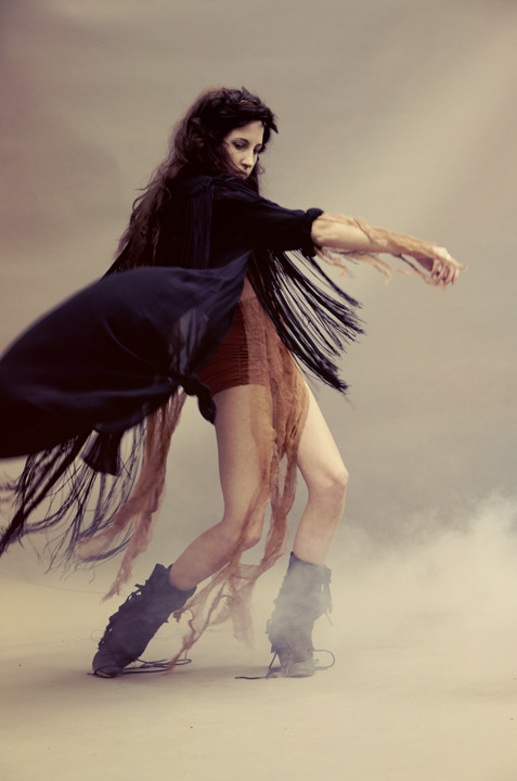 Latest editorial i shot for Sisters of the Black Moon