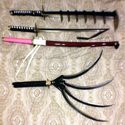 Finally got my swords! Thanks Black Friday :D