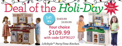 Today's Deal - LifeStyle PartyTime Kitchen just $109.99 delivered to your door with code S2PTK127 at checkout. 24 hours only!