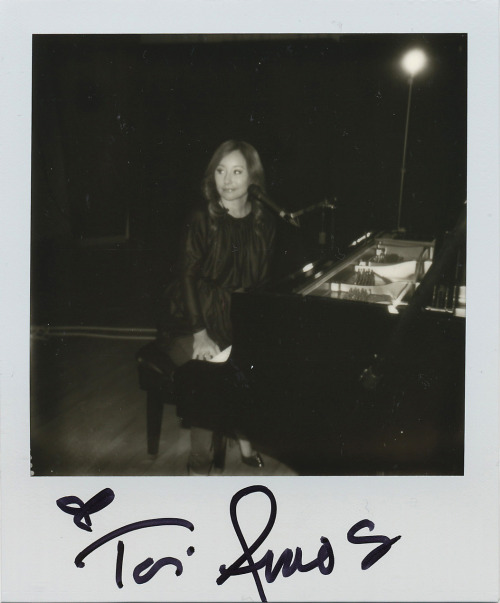 @ToriAmos stopped by @NPR studios yesterday for a performance chat with @TellMeMoreNPR.  Shot w/ @ImpossibleUSA PX600 Silver Shade Grey Frame Film