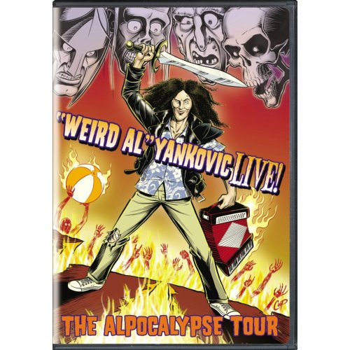 patrickcassels:  Go buy the new Weird Al tour DVD. It includes a sketch Starring Yankovic and written by me. While you're there pick up Bad Hair Day. I had nothing to do with it but it's hilarious.
