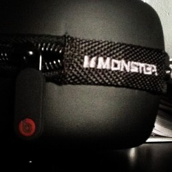 Monster beats.  (Taken with instagram)
