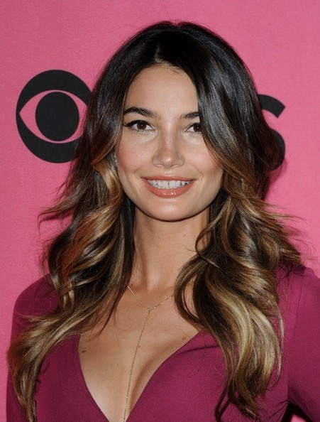 Lily Aldridge last week promoting the Victoria's Secret annual fashion show, hair by me.  I love Lily!