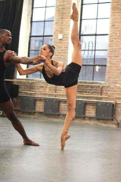 gracekellymeetsgracejones:  Misty Copeland with Dance Theatre of Harlem