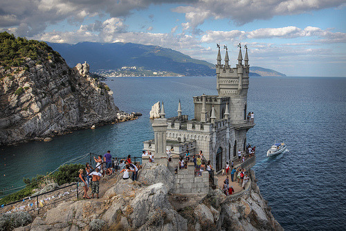 allthingseurope:  Swallow's Nest, Ukraine (by Jeremy203)