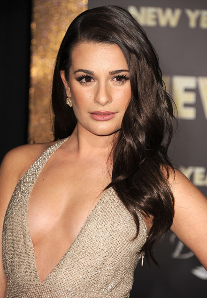 Lea Michele/ Hair by Mark