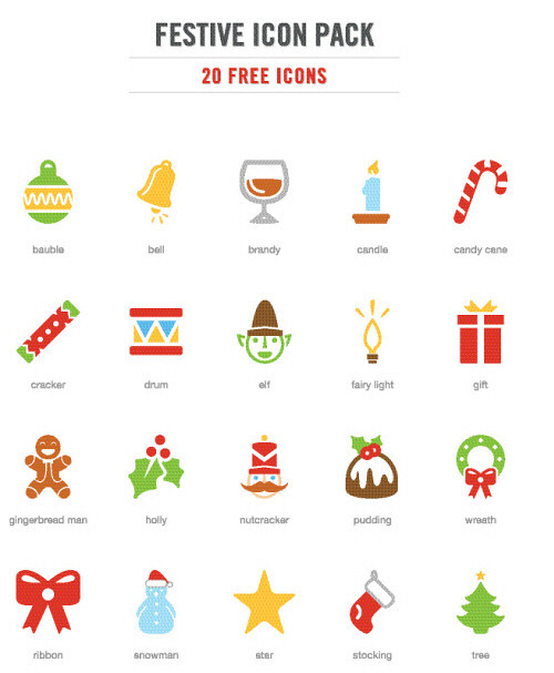 Free Festive #Christmas Icon Pack (20 .EPS Icons) via @SmashingMag Like us on Facebook | Visit our website | Join us on Google+