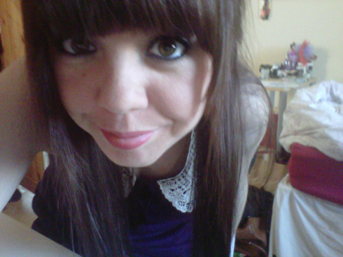 this is what i looked like with brown hair. My mum says it suits me better, but i like being ginger :)