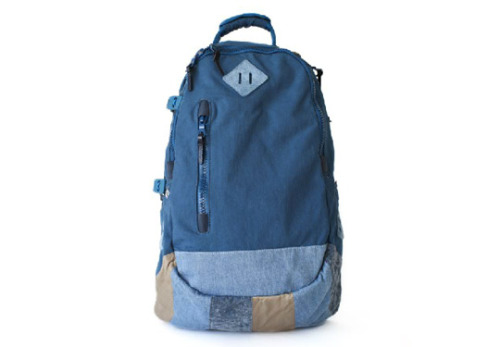 visvim Lamina 20L Picaro Made of 'Konbu' Japanese baked nylon and a reinforced patchwork bottom, visvim presents the newest member to its ever growing family of high quality  luggage pieces – the Lamina 20L Picaro. For us the 20L is the perfect  backpack size, as you have enough space for your laptop, DSLR and even  for a short overnight trip, yet you do not look like you are going  hiking for the next three weeks. For Holiday 2011 the backpack comes in  overall 5 colorways.
