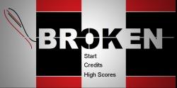 Title Screen for Broken!