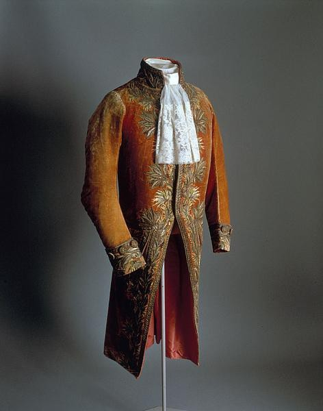 "The justaucorps from Napoleon's First Consul uniform. This can be seen in many contemporary paintings of the ""Corsican upstart""."