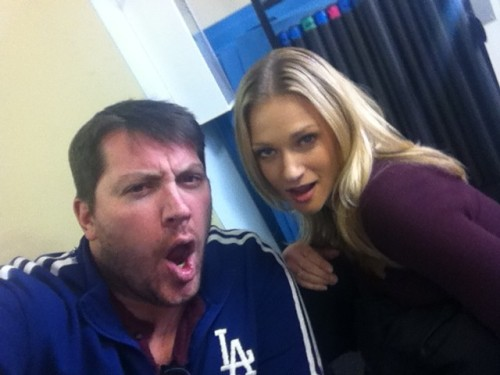 sergiocushion:  sesamesquirrel:  rdif:  TTTO and @AJCookOfficial :D Such a yummity photo!  Oh! Those! Lips! Hnnnnnggg… *thud*  You know, he might know about that blog too.   Studiously ignoring that distinct possibility! (>.<) I mean, it does have HIS NAME in the title ;-p