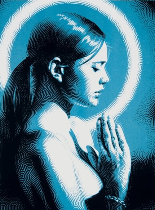 "marysoul:  ""Prayer"" by Mac"