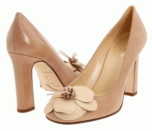 These are by Kate Spade and are a nice neutral for work pump.