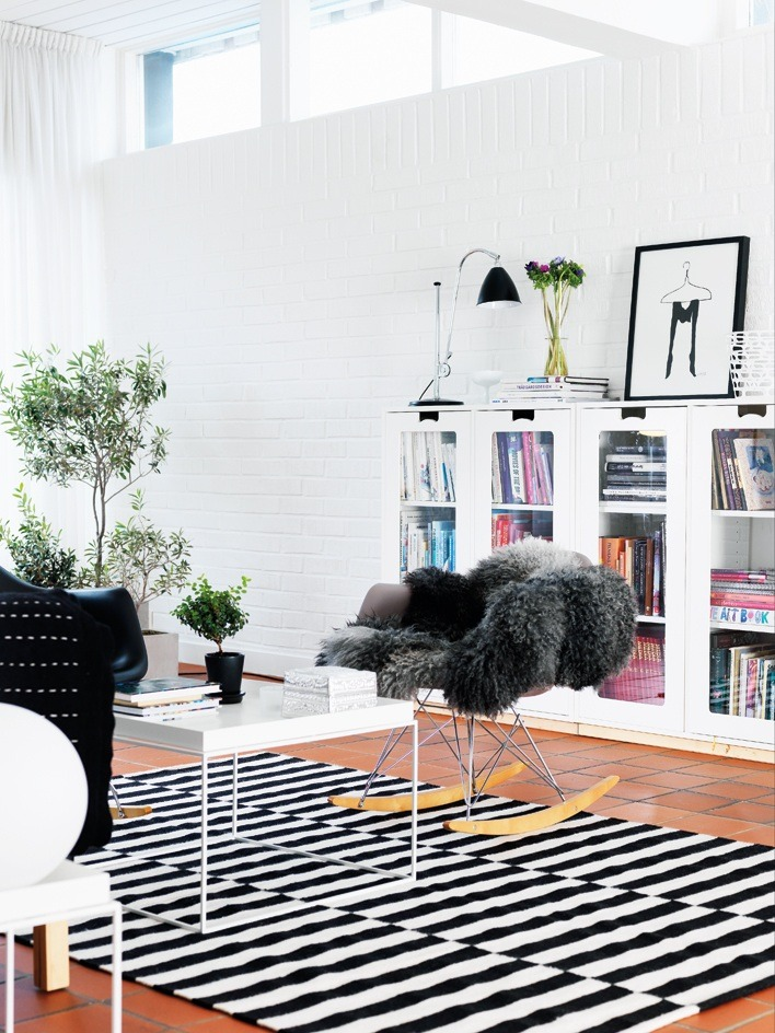 A home in Sweden. Photo by Peter Carlsson for Hus & Hem.