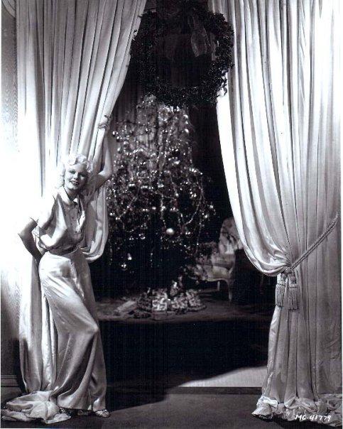 Jean Harlow - Christmas 1930s