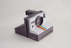 Pinhole Polaroid Land Camera 1000 respicefinem:  Polariod Pinhole Camera