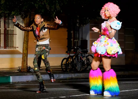 Willow Smith X Nicki Minaj - Fireball