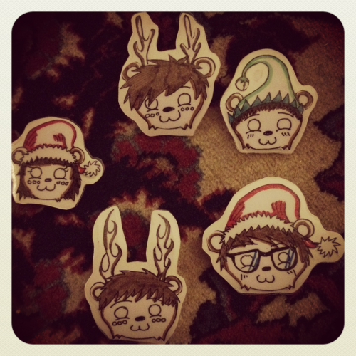 Holiday Cobra Stickers~