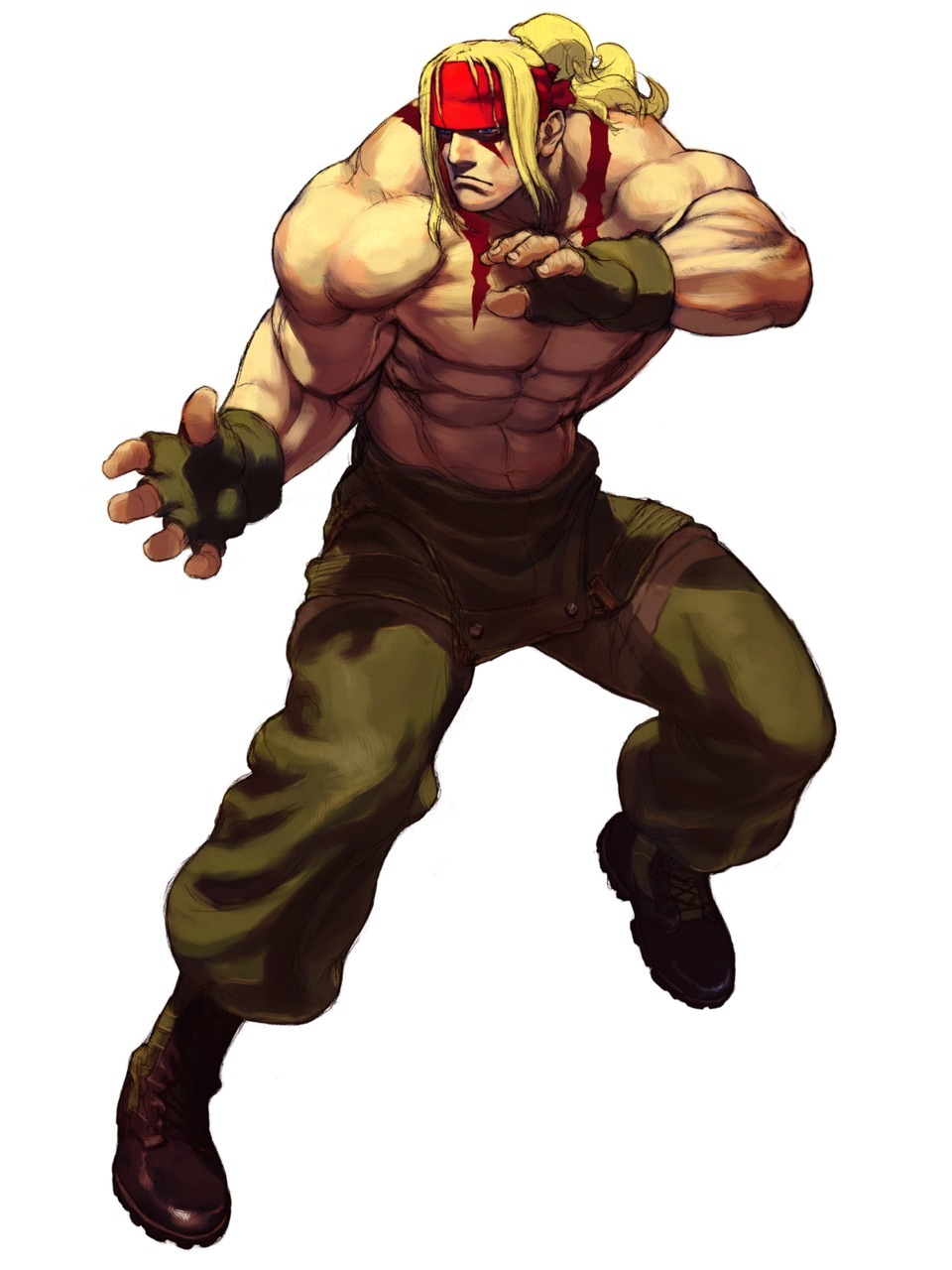 Alex Street Fighter 3 Third Strike