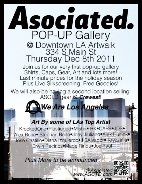 DTLA Art Walk Tonight! Come by and say HELLO!