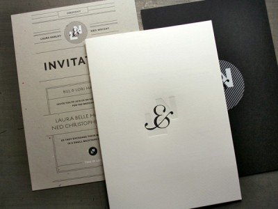 omgletterpress:  (via An Oversized Wedding Invitation « Beast Pieces)